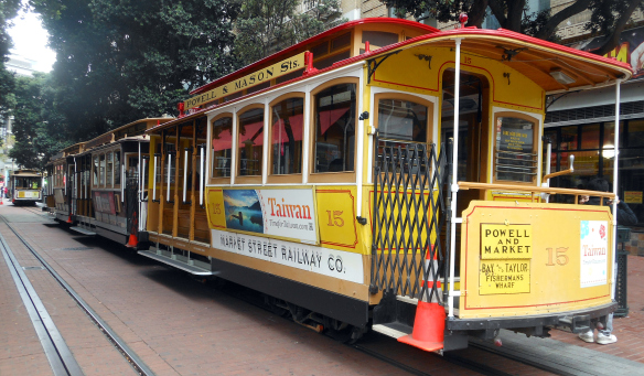 Powell Street Cable Cars